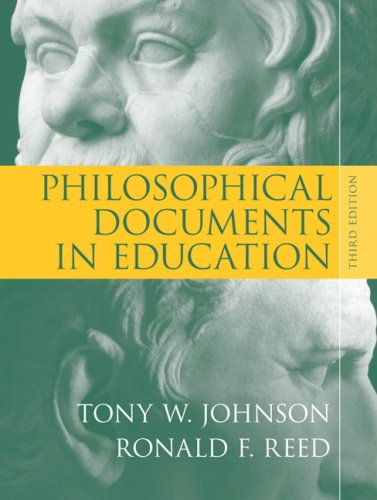 Philosophical Documents in Education  3rd 2008 edition cover