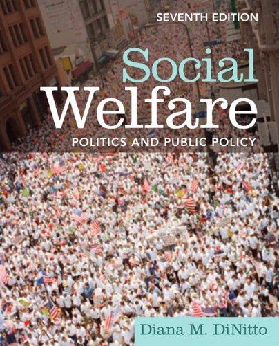 Social Welfare Politics and Public Policy 7th 2011 edition cover