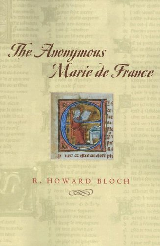 Anonymous Marie de France   2006 9780226059846 Front Cover
