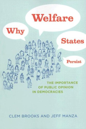 Why Welfare States Persist The Importance of Public Opinion in Democracies  2007 9780226075846 Front Cover