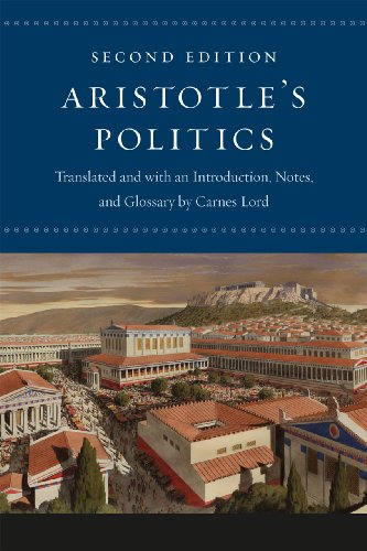 Aristotle's Politics  2nd 2013 9780226921846 Front Cover