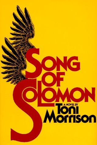 Song of Solomon   1977 edition cover