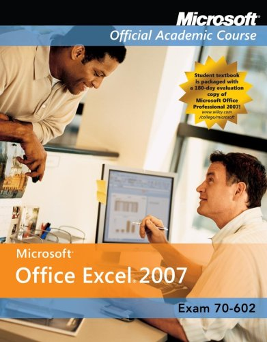 Microsoft Office Excel 2007, Exam 77-602 Comp Copy  2008 edition cover