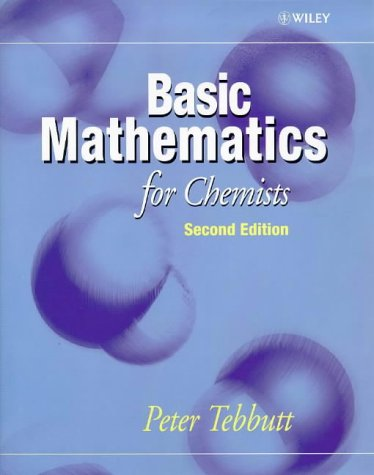 Basic Mathematics for Chemists  2nd 1998 (Revised) 9780471972846 Front Cover