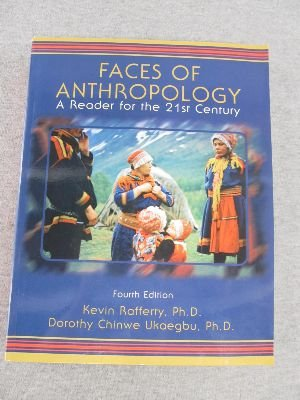 FACES OF ANTHROPOLOGY >CUSTOM< 4th 2003 edition cover