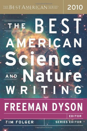 Best American Science and Nature Writing 2010   2010 9780547327846 Front Cover