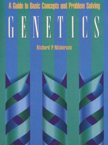 Genetics A Guide to Basic Concepts and Problem Solving  1990 edition cover