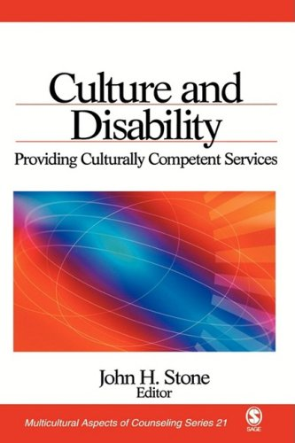 Culture and Disability Providing Culturally Competent Services  2005 edition cover