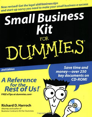 Small Business Kit for Dummies�  2nd 2004 (Revised) edition cover