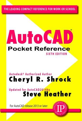 AutoCAD Pocket Reference  6th edition cover