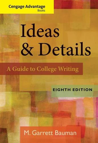 Ideas and Details  8th 2013 edition cover