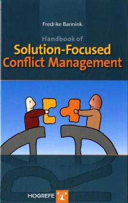 Handbook of Solution-Focused Conflict Management   2010 9780889373846 Front Cover