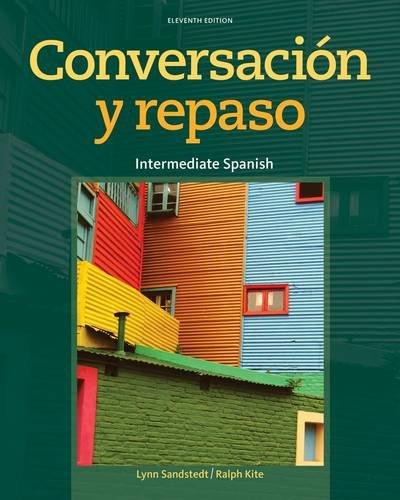 Conversacion y repaso / Conversation and Review: 11th 2013 edition cover