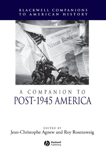 Companion to Post-1945 America   2006 9781405149846 Front Cover