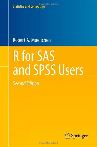 R for SAS and SPSS Users  2nd 2011 edition cover