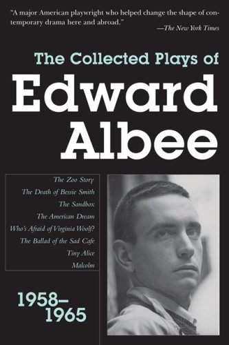 Collected Plays of Edward Albee 1958-1965 N/A edition cover