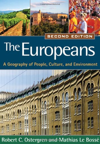 Europeans A Geography of People, Culture, and Environment 2nd 2011 (Revised) edition cover