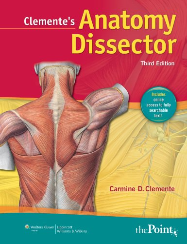 Clemente's Anatomy Dissector  3rd 2011 (Revised) edition cover