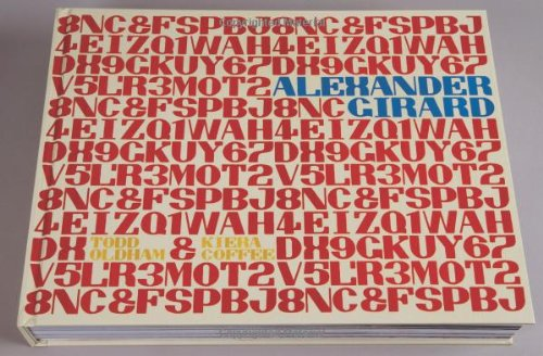 Alexander Girard   2011 9781934429846 Front Cover