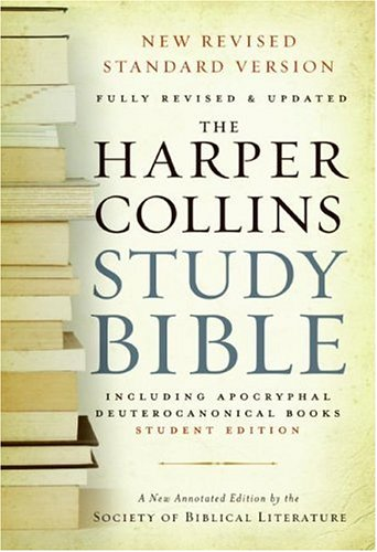 Harper Collins Study Bible   2006 edition cover