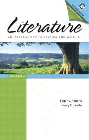 Literature An Introduction to Reading and Writing 7th 2004 edition cover