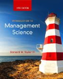 Introduction to Management Science:   2015 9780133778847 Front Cover