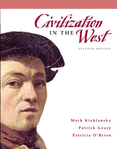 Civilization in the West  7th 2008 edition cover