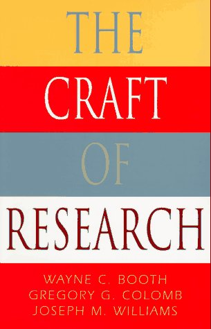Craft of Research  N/A edition cover