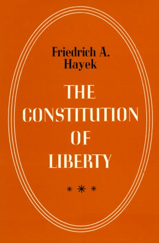 Constitution of Liberty  N/A edition cover