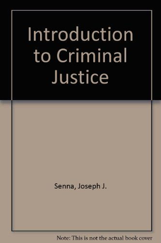 Introduction to Criminal Justice  7th 1996 9780314063847 Front Cover
