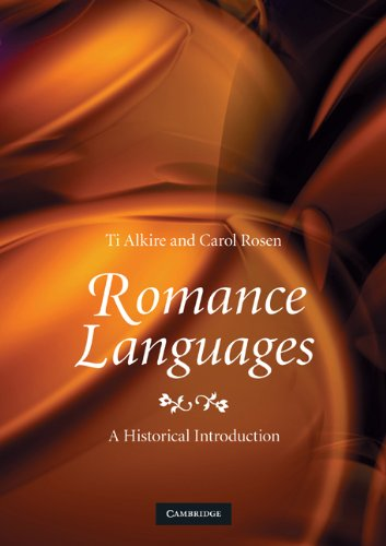 Romance Languages A Historical Introduction  2010 9780521717847 Front Cover