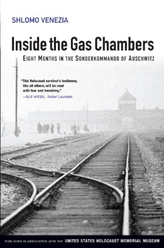 Inside the Gas Chambers Eight Months in the Sonderkommando of Auschwitz  2009 edition cover
