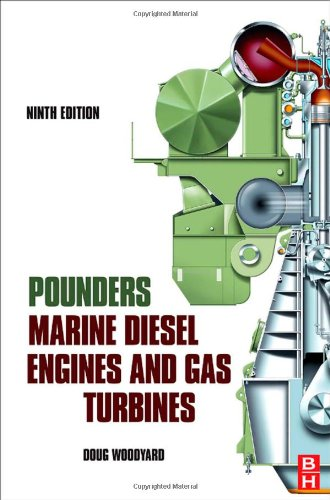 Pounder's Marine Diesel Engines and Gas Turbines  9th 2008 edition cover