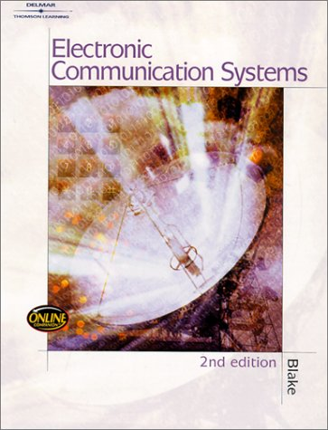 Electronic Communication Systems  2nd 2002 (Revised) edition cover