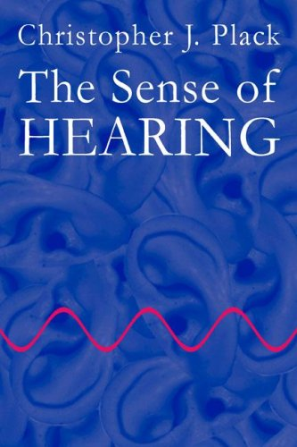Sense of Hearing   2005 9780805848847 Front Cover