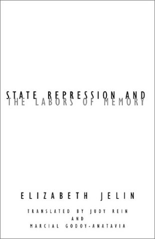 State Repression and the Labors of Memory   2003 edition cover