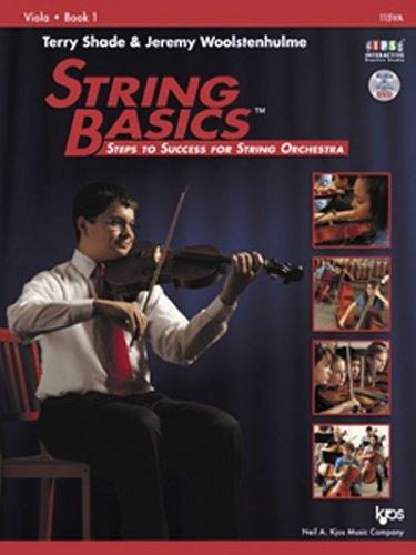 STRING BASICS,VIOLA BK.1-W/DVD N/A 9780849734847 Front Cover