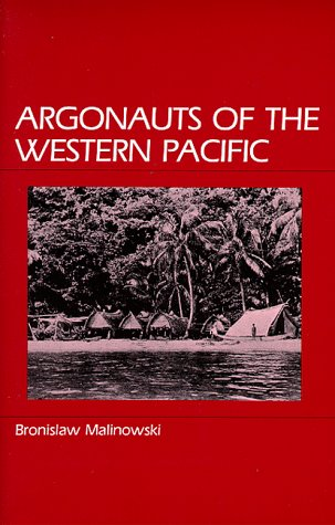 Argonauts of the Western Pacific   1984 edition cover