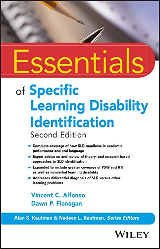 Essentials of Specific Learning Disability Identification  2nd 2018 9781119313847 Front Cover