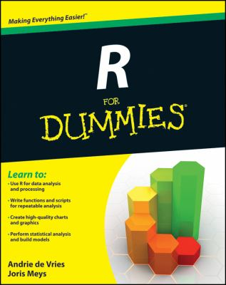 R for Dummies  2nd 2012 edition cover