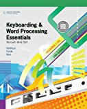 Bundle: Keyboarding and Word Processing Essentials, Lessons 1-55: Microsoft� Word 2010, 18th + Keyboarding Pro Deluxe Online, Lessons 1-55 Printed Access Card Keyboarding and Word Processing Essentials, Lessons 1-55: Microsoft� Word 2010, 18th + Keyboarding Pro Deluxe Online, Lessons 1-55 Printed Access Card 18th 9781133298847 Front Cover