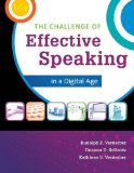 The Challenge of Effective Speaking in a Digital Age:   2014 edition cover