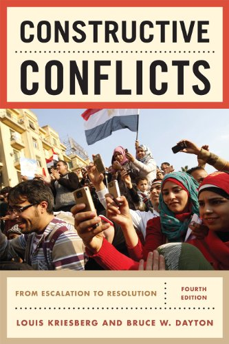 Constructive Conflicts From Escalation to Resolution 4th 2011 edition cover