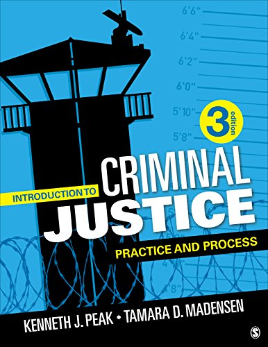 Introduction to Criminal Justice: Practice and Process  2018 9781506391847 Front Cover