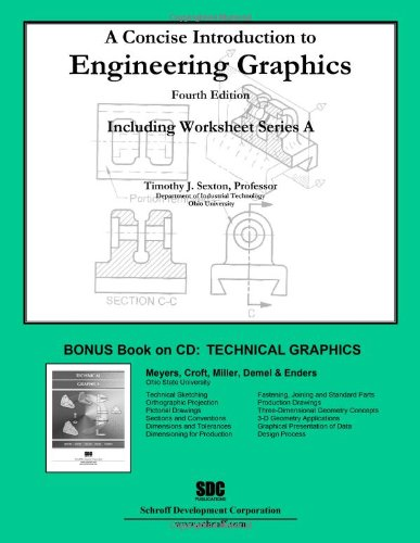 Concise Introduction to Engineering Graphics (4th Edition) With Workbook A N/A edition cover
