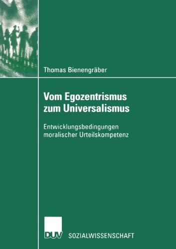 Vom Egozentrismus Zum Universalismus   2002 9783824444847 Front Cover