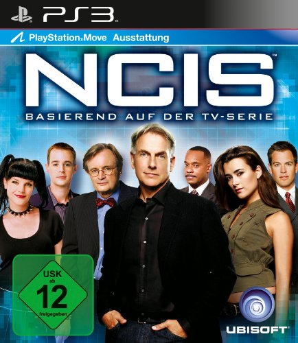 NCIS PlayStation 3 artwork