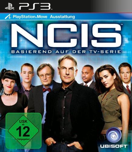 NCIS PlayStation 3 artwork