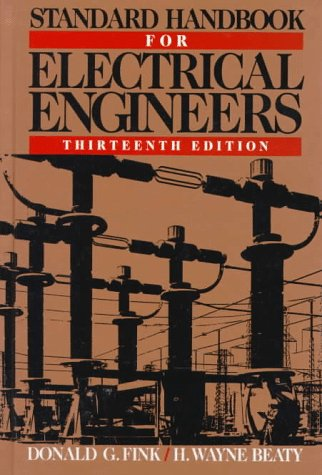 Standard Handbook for Electrical Engineers 13th 1993 edition cover