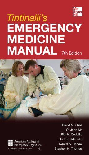 Emergency Medicine Manual  7th 2012 edition cover